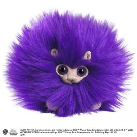 The Noble Collection Harry Potter Pygmy Puff Plush in Purple